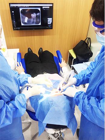 口腔外科の専門的治療および手術に特化・大学病院との連携強固・インプラント・外科小手術・親しらずの抜歯